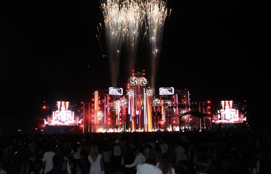 """Dàn sao Việt """"đốt cháy"""" đại nhạc hội siêu khủng khởi động F1 - Ảnh 2."""