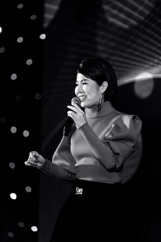"""Ca sĩ, MC Thi Thảo cùng học trò tham gia đêm nhạc """"Sing to build"""" - Ảnh 4."""