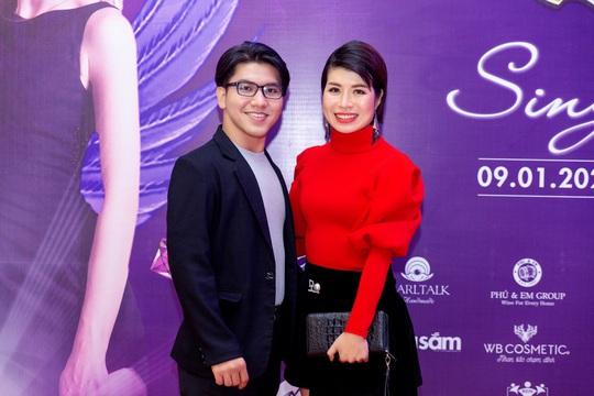 """Ca sĩ, MC Thi Thảo cùng học trò tham gia đêm nhạc """"Sing to build"""" - Ảnh 6."""