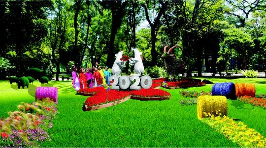 Hội Hoa Xuân TP HCM 2020: hiện đại, thân thiện môi trường - Ảnh 3.