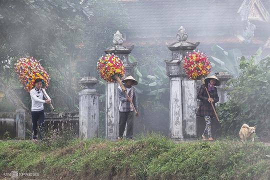 Tết ở làng hoa giấy Thanh Tiên - Ảnh 3.