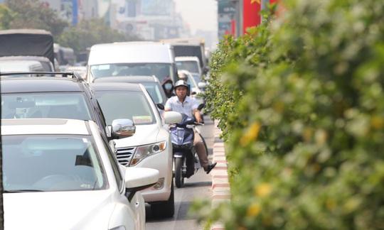 Đường vào sân bay Tân Sơn Nhất nghẹt cứng, ngàn người nháo nhào - Ảnh 4.
