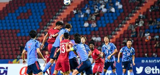 Hòa Nhật Bản, chủ nhà World Cup 2022 bị loại khỏi Giải U23 châu Á - Ảnh 7.