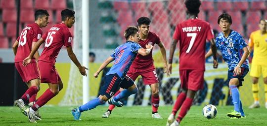Hòa Nhật Bản, chủ nhà World Cup 2022 bị loại khỏi Giải U23 châu Á - Ảnh 6.