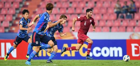 Hòa Nhật Bản, chủ nhà World Cup 2022 bị loại khỏi Giải U23 châu Á - Ảnh 5.