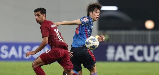 Hòa Nhật Bản, chủ nhà World Cup 2022 bị loại khỏi Giải U23 châu Á - Ảnh 9.