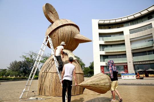 6 bông lúa siêu to tại Đường Xuân Phú Mỹ Hưng - Ảnh 5.