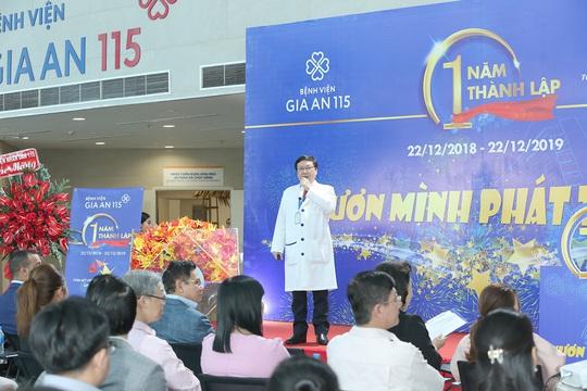 Bệnh viện Gia An 115 kỷ niệm 1 năm ngày thành lập - Ảnh 2.