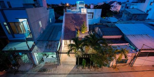 Ngôi nhà có khoảng không gian chung đẹp hút hồn - Ảnh 1.