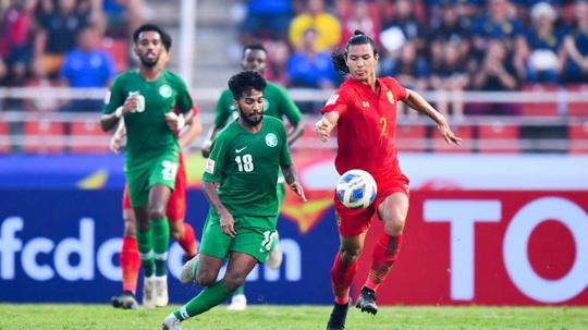 VCK giải U23 châu Á 2020: Thái Lan dừng chân tại tứ kết - Ảnh 1.