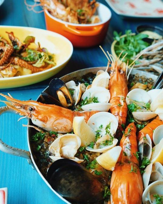 3 nhà hàng hải sản giá dưới 1 triệu đồng tại TP HCM - Ảnh 7.