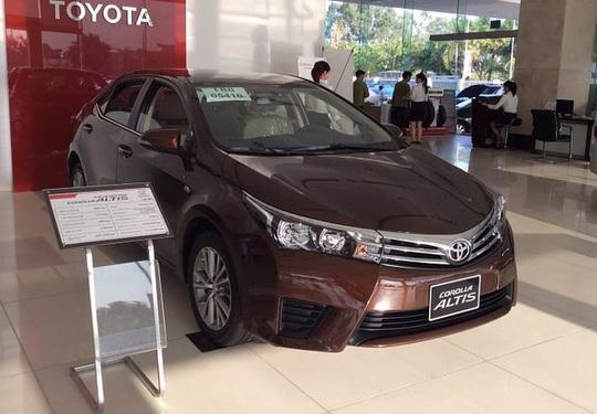 Điểm mặt 10 mẫu xe ế nhất năm 2019, nhà Toyota chiếm hơn một nửa - Ảnh 1.