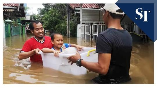 Jakarta: Mưa không bình thường một đêm, 16 người chết - Ảnh 12.