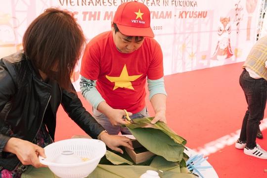 Thành phố ở Nhật Bản rộn ràng đón Tết cổ truyền Việt Nam - Ảnh 4.