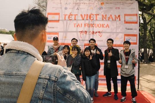 Thành phố ở Nhật Bản rộn ràng đón Tết cổ truyền Việt Nam - Ảnh 6.