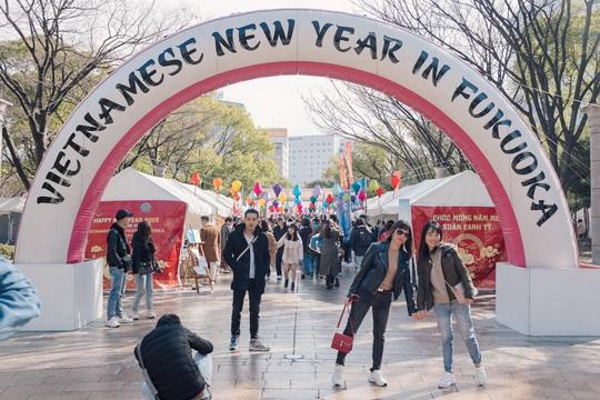 Thành phố ở Nhật Bản rộn ràng đón Tết cổ truyền Việt Nam - Ảnh 8.