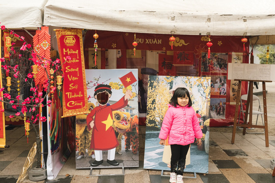 Thành phố ở Nhật Bản rộn ràng đón Tết cổ truyền Việt Nam - Ảnh 10.