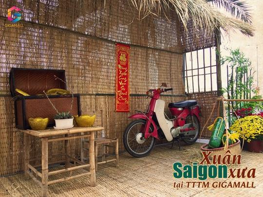 Du xuân đường hoa Sài Gòn xưa, phố ông đồ tại Trung tâm thương mại Gigamall - Ảnh 4.