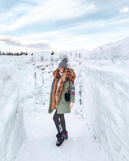 Mê cung tuyết rộng 2.500 m2 ở Ba Lan - Ảnh 8.