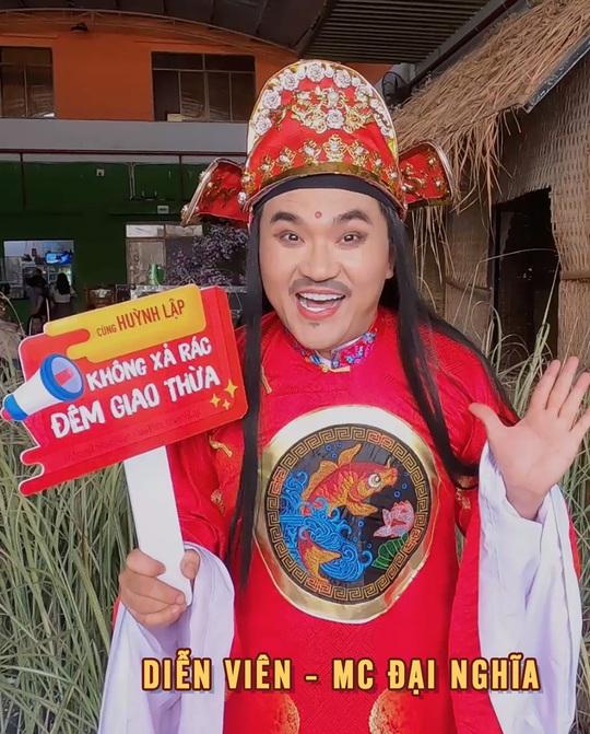 """Nghệ sĩ ủng hộ chiến dịch """"Không xả rác đêm giao thừa"""" của Huỳnh Lập - Ảnh 5."""