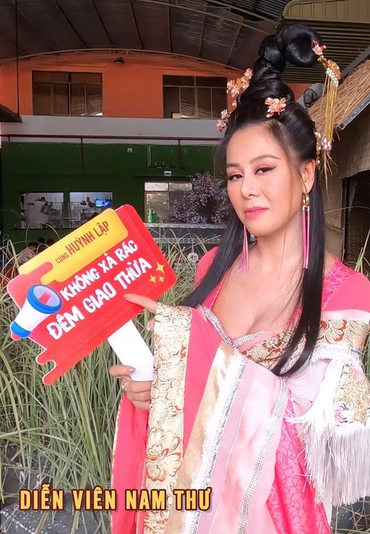 """Nghệ sĩ ủng hộ chiến dịch """"Không xả rác đêm giao thừa"""" của Huỳnh Lập - Ảnh 10."""