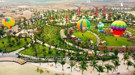 Dương Triệu Vũ bay khinh khí cầu đón Tết giữa TP HCM - Ảnh 1.