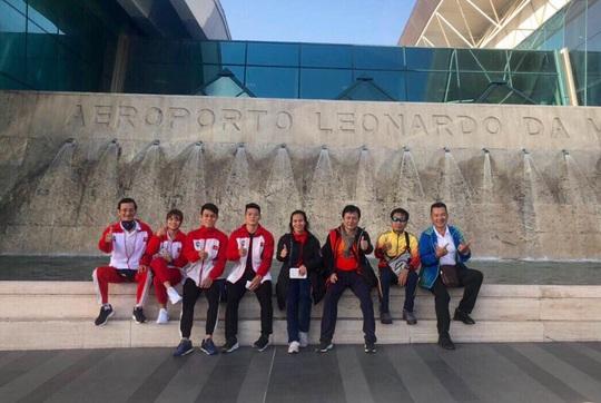 Thạch Kim Tuấn giành 3 ngôi vô địch World Cup cử tạ 2020 - Ảnh 1.