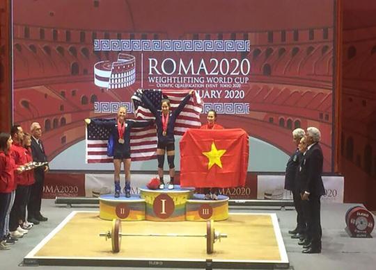Thạch Kim Tuấn giành 3 ngôi vô địch World Cup cử tạ 2020 - Ảnh 4.