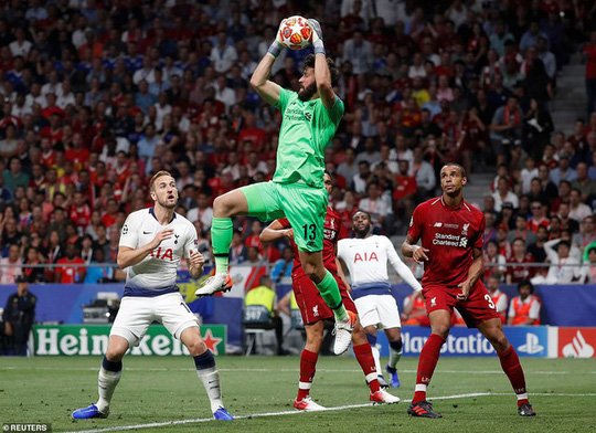Alisson chung ket CL
