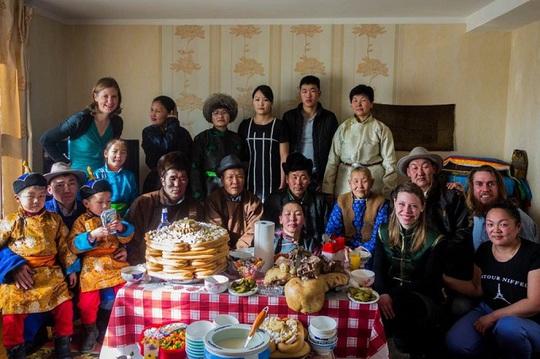 Tết cổ truyền trên cao nguyên Mông Cổ - Ảnh 1.