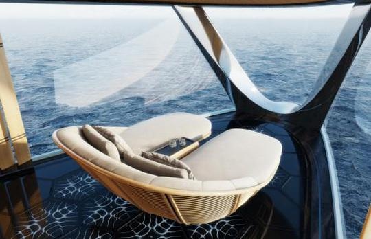 Sinot Aqua: Du thuyền đầu tiên trên thế giới chạy bằng hydro - Ảnh 2.