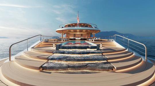 Sinot Aqua: Du thuyền đầu tiên trên thế giới chạy bằng hydro - Ảnh 4.