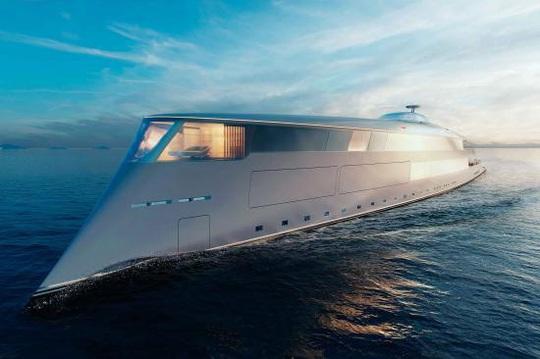 Sinot Aqua: Du thuyền đầu tiên trên thế giới chạy bằng hydro - Ảnh 1.