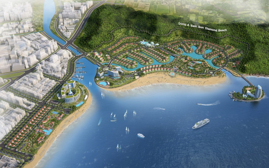 Thanh Hóa xây Khu đô thị du lịch ven biển 546 ha - Ảnh 1.