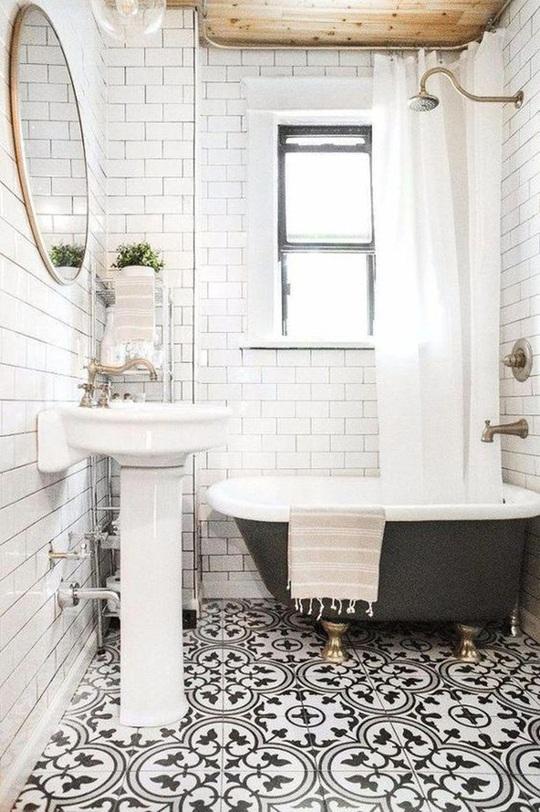 10 cách không ai ngờ tới giúp tiết kiệm khối tiền khi cải tạo phòng tắm - Ảnh 1.