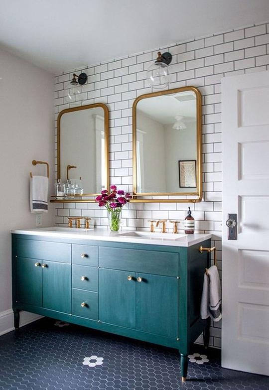 10 cách không ai ngờ tới giúp tiết kiệm khối tiền khi cải tạo phòng tắm - Ảnh 8.