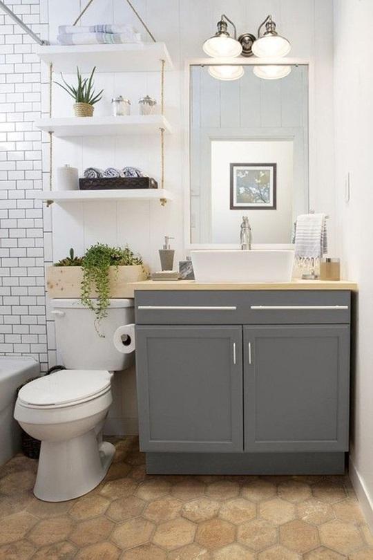 10 cách không ai ngờ tới giúp tiết kiệm khối tiền khi cải tạo phòng tắm - Ảnh 9.