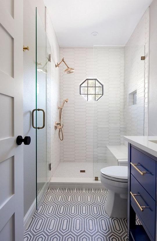 10 cách không ai ngờ tới giúp tiết kiệm khối tiền khi cải tạo phòng tắm - Ảnh 4.