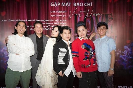 Thanh Lam kể Chuyện tình Việt Nam với Tùng Dương cùng tam ca nhạc đỏ - Ảnh 1.