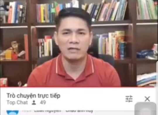 Giám đốc DN ở TP HCM lên YouTube xin lỗi nữ chủ cửa hàng ở Sóc Trăng - Ảnh 2.