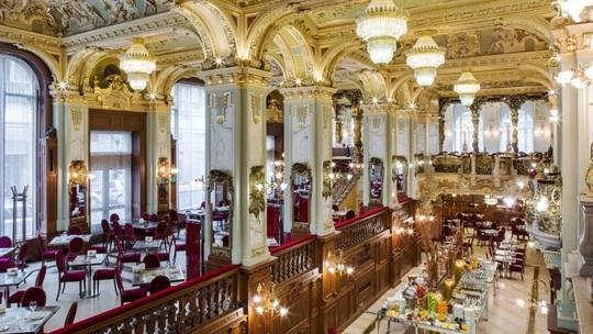Lạc bước vào quán cà phê đẹp nhất thế giới - Ảnh 6.