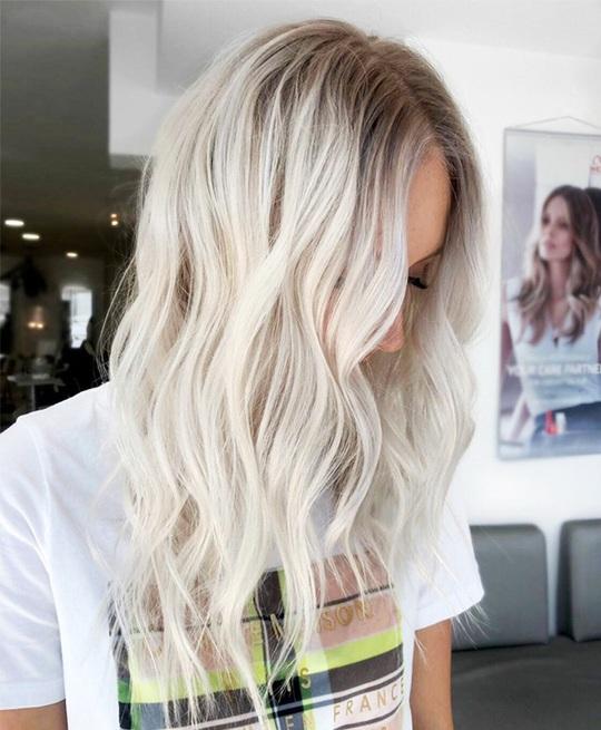 Xanh da trời và những màu tóc nhuộm hot nhất dịp Tết này - Ảnh 5.