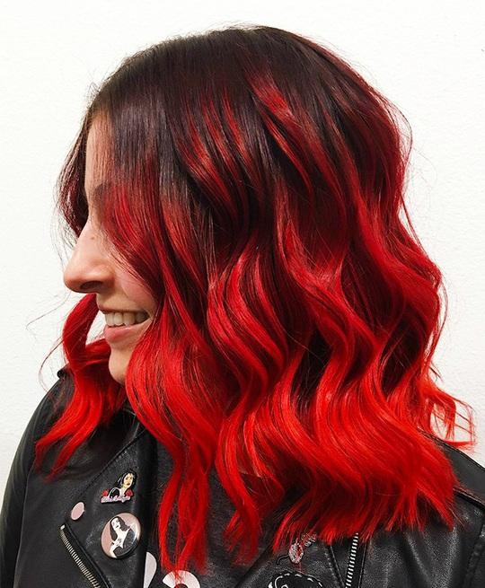 Xanh da trời và những màu tóc nhuộm hot nhất dịp Tết này - Ảnh 6.