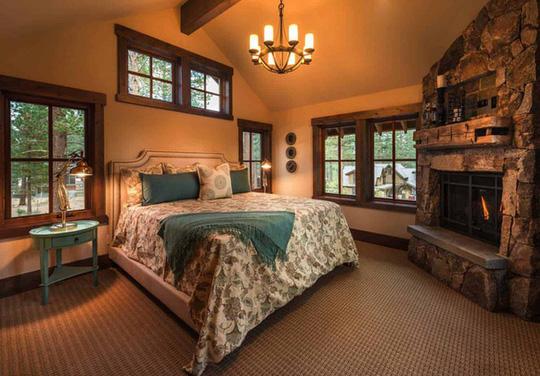 Ngôi nhà gỗ trên núi tuyệt đẹp, ai nhìn cũng mê - Ảnh 7.