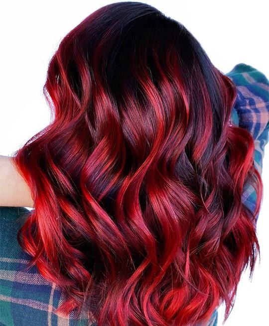 Xanh da trời và những màu tóc nhuộm hot nhất dịp Tết này - Ảnh 7.