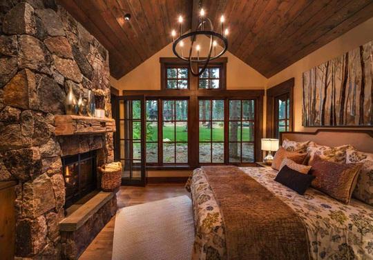 Ngôi nhà gỗ trên núi tuyệt đẹp, ai nhìn cũng mê - Ảnh 8.