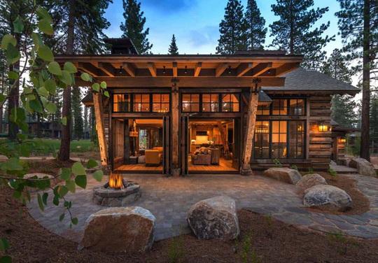 Ngôi nhà gỗ trên núi tuyệt đẹp, ai nhìn cũng mê - Ảnh 10.