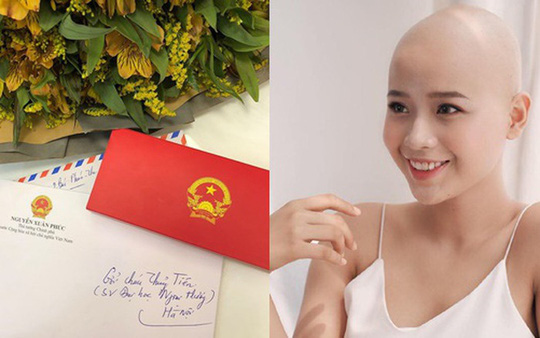 Từ bức thư của Thủ tướng, nữ sinh bị ung thư truyền cảm hứng về cuộc sống cho bệnh nhân - Ảnh 3.