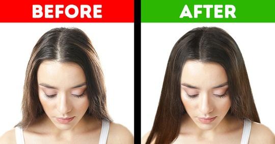 9 mẹo hô biến tóc mỏng, gãy rụng trở nên chắc khỏe - Ảnh 1.