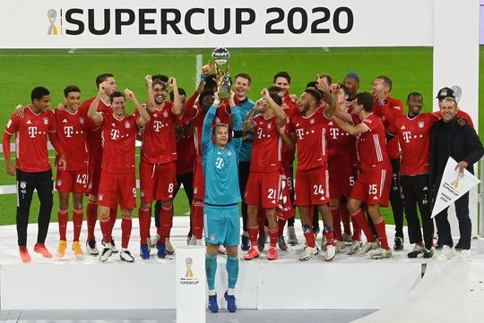 Clip Bayern Munich hoàn tất cú ăn 5 khi đánh bại Dortmund ở Siêu cúp Đức - Ảnh 8.